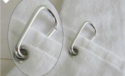 Крюк из нержавеющей стали для гольфа полотенце печати белые поля для гольфа хлопок полотенце