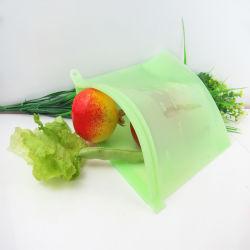 En silicone résistant et scellables sac alimentaire