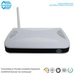 Modem de fibra óptica 100Mbps ONU Epon usado em Gigabytes Rede Óptica passiva
