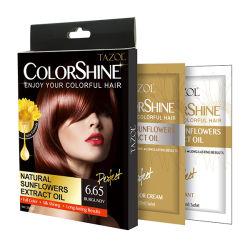 Crema veloce 25ml*2 di colore dei capelli della tintura di nuova promozione