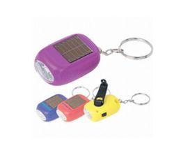 Disegno Keychain solare di plastica dell'OEM