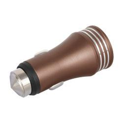 ステンレス鋼の緊急のハンマーデュアルポート車USBの充電器