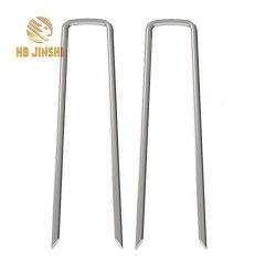 6 インチ亜鉛めっきアースガーデンステープル / SOD ステープル