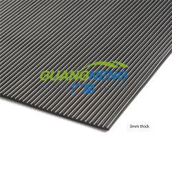 Acolchado de goma antideslizante alfombra, alfombra de caucho
