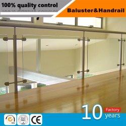 Balaustra/inferriata/corrimano dell'acciaio inossidabile di disegno moderno per costruzione interna ed esterna
