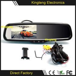 """4.3"""" coche espejo retrovisor Monitor LCD TFT para el alquiler de coche de la cámara y GPS DVD"""