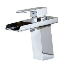 Фантазии дизайн Chrome Polioshed коснитесь светодиодный индикатор латуни в ванной комнате датчик бассейна под струей горячей воды