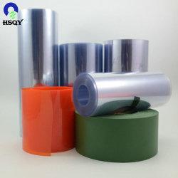 Calandragem clara de plástico de PVC rígido de rolos de folha de película rígida de PVC