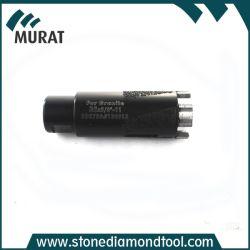 De gesoldeerde Hulpmiddelen van de Boor van de Kern van de Diamant van 35mm voor Graniet en Marmer
