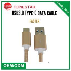 Van de Micro- 2A Kabel Van uitstekende kwaliteit van de Lader USB van de Kabel USB van de Gegevens van China de Universele Telefoon van het Type C