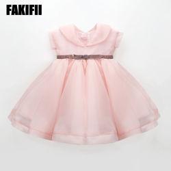 Peça de vestuário para bebé ODM Design da marca garota Verão vestir as crianças Organza Vestuário