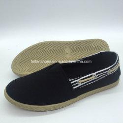 Estilo clássicoda modasapatos de tela plana de injecção calçado casual (PY18422-1)
