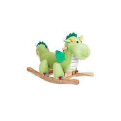 Giocattolo di legno del dinosauro del cavallo di oscillazione della peluche di alta qualità per il bambino