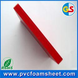 PVC 엄밀한 거품 장 공급자 (베스트셀러 크기: 백색과 고밀도 1.22m*2.44m)