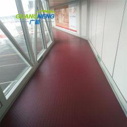 Pisos de goma antideslizante y colorido Camino del aeropuerto de pisos de goma pisos de goma de los niños