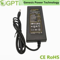 adattatore universale di potere del CCTV di CC di CA di 12V 5A 60W, fabbrica da tavolino di commutazione dell'adattatore dell'alimentazione elettrica