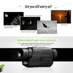 L'enregistrement DVD nuit monoculaire caméra espion de Concert de détecter la chasse de nuit