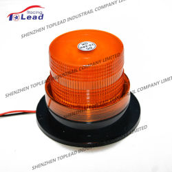 Couleur Ambrée 12V-48V 60pcs SMD 5730 Ampoule de LED Base magnétique avec bouchon de contrôle de Témoin de rotation Ce-Mark, Strobe gyrophare d'avertissement, Voyant LED (TBL 69)