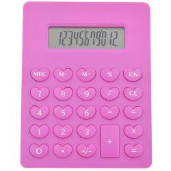 Un Mini rose mignon 12 chiffres ordinateur de poche calculatrice scientifique de l'École de bureau