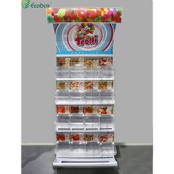 Einzelhandelsgeschäft-Zucker-und Süßigkeit-Bildschirmanzeige-Zahnstangen-Bildschirmanzeige-Regal
