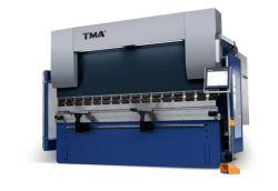 Aço inoxidável Síncrono Eletro 4 máquina de corte CNC dobradeira de Eixos Wc67K