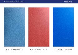 Feuille en PVC gaufré Film décoratif dépoli avec une couleur unie