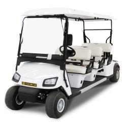 6+2 Auto van het Golf van het Sightseeing van de Pendel van het Nut Seater de Elektrische Klassieke met SGS van Ce