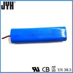 Batteries au lithium ion 18650 7.4V 5200mAh Batterie pour lampe de poche