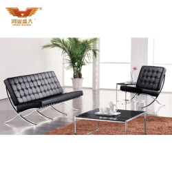 Hotel-Möbel-Barcelona-Stuhl, antiker Wohnzimmer-Stuhl, Schwenkerrecliner-Stuhl-Teile