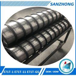 OEM 1,2 mm E71T-1c E70T-1c Flux en acier au carbone évidées fils à souder