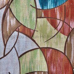 90%Polyester 10%Linen Polsterung-Sofa-Gewebe-Jacquardwebstuhl für Sofa, Vorhang-Dekoration