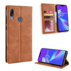 Кожаное портмоне переверните крышку чехол для мобильного телефона Asus Zenfone Max (M2) Zb633КЛ