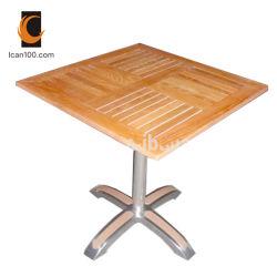 منافس من الوزن الخفيف خارجيّ حد مطعم مطّاطة خشبيّة أنيق يتعشّى طاولة بيتيّة ([دت-06270س5])