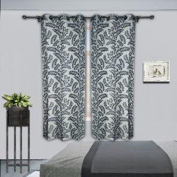 Tenda dell'occhiello dei fogli dei gommini di protezione delle tende 8 per il salone della camera da letto, pollici 54X84; Tessuto della tenda