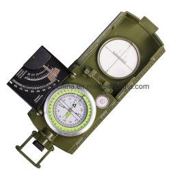 DC-1A/6000 Geomaster Lensatic Kompaß/Pocket Kompaß/Militarycompass/russischer Kompaß mit Vorwahlknöpfen 360-Deg/6000-Mil, Inklinationskompaß (0-90 Grad) und der Schwingung-Dämpfung