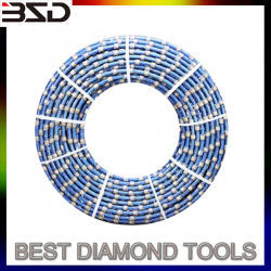 11.0mm 11,5mm Diamond Cabo Pedreira Fio de corte viu usado no fio de Diamante Máquina de serra