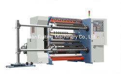 Rtfq-1300d 고속 마찰 에어 샤프트 PVC 필름 포일 크래프트 용지 살터 리와인더 롤 롤 로팅 리와인딩 머신