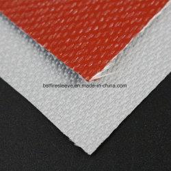 Tecidos de fibra de vidro 1,5mm 45oz Tecidos revestidos de silicone e têxteis