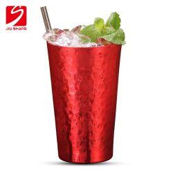140z gobelet de voyage unique en aluminium rouge Beercup Vintage tasse à café