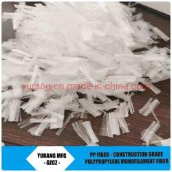 Materiais Buildinig Crackless Fibra de PP para a construção de Mistura de betão, argamassas Factory
