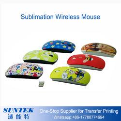 Souris sans fil imprimable sublimation de l'impression de la souris 3D