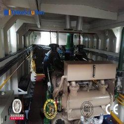 Draga de succión cortadora de arena/Dragar/Envío/máquina de dragado/ barco/buque