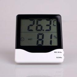 В комплект входят гигрометр и термометр с многофункциональной рукоятки для отображения температуры и влажности