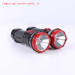 1W 높은 광도 좋은 품질 저가 아BS 플라스틱 재충전용 LED 토치