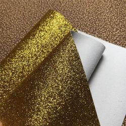 Shinning Entwurftc-Schutzträger-Funkeln-lederne Schuh-Materialien