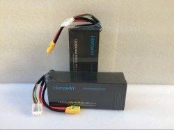 Batterie au Lithium haute puissance pour les UAV 12000mAh 22.2V 20c pour avion RC
