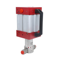 Pompa di innesco automatica del punto del gas caldo del modello Lyq-100 per industria di gas