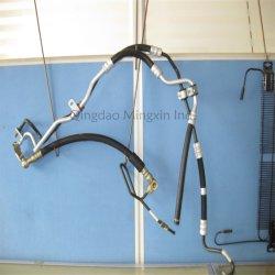Le zingage et tubes en acier Revêtement PVF Bundy appliquée pour la conduite de frein, conduite de carburant, la conduite hydraulique de direction assistée