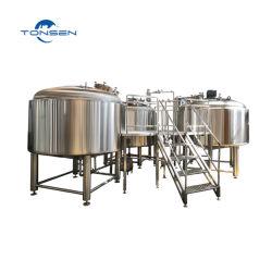 Tonsen Total Complete Beer Plant Complete Beer Brewing Equipment Beer 생산 라인