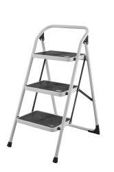 CE/NE131 aprobado 4 el paso de la escalera telescópica Multiuso Acero Inoxidable escalera escalera de metal de la escalera del hogar